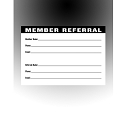 Member Referral  Entry Pad