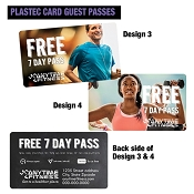 Anytime Plastic Credit Card Guest Passes QTY: 500