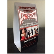 Custom Designed Cardboard Table Tent Package 4 x6 or 4x8 (QTY 250)
