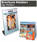 Brochure & Sign Holders &  Wall Mount Displays