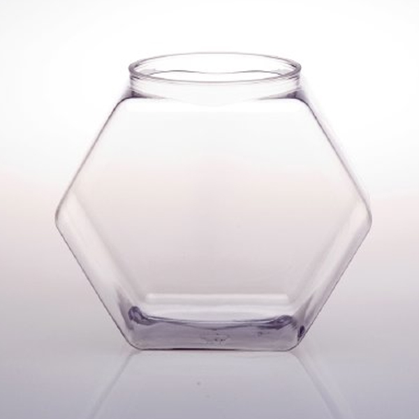 Plastic fishbowl for collecting business cards or sales leads for Plastic fish bowls