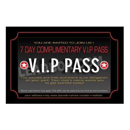 Guest Pass Health Fitness 12