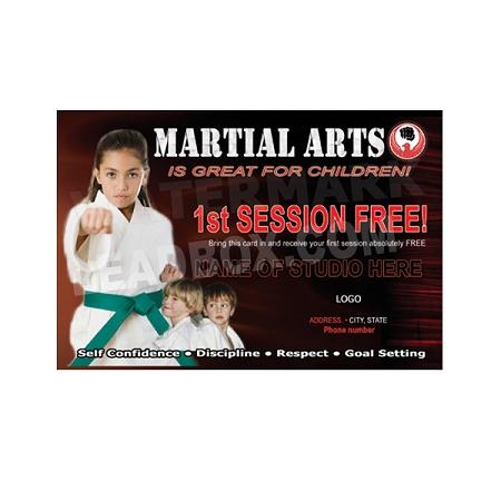 500 Martial Arts Postcard 2