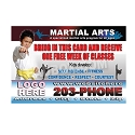 500 - Martial Arts Postcard 7