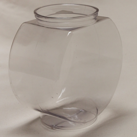 Fish bowl without fish for Plastic fish bowl