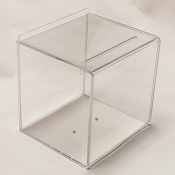 Clear Comment Box, Sign holder on front ( 8 x 8)