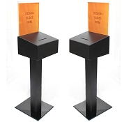 Floor Standing Ballot and Contest Box - BEST SELLER - FREE SHIPPING
