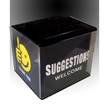 custom plastic suggestion box the lowest price on the internet