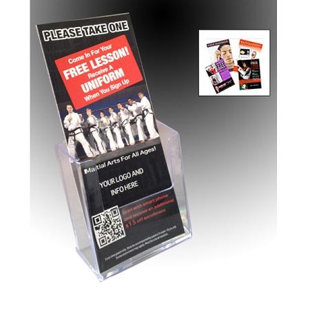 brochure holders for you 4x9 literature - Rack Card Holders