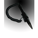 Security Pen with Durable Cord and stick on base