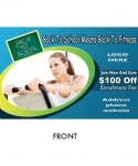 500 Health / Fitness Postcard 1