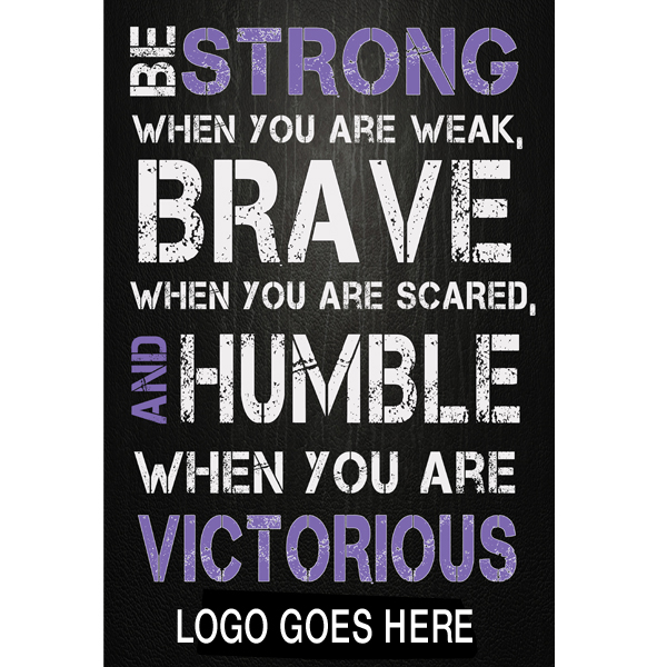 anytime fitness motivational poster 20 x 30 photographic print