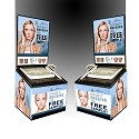 2 MINUTE MIRACLE GEL - BLACK BALLOT CONTEST BOX (PACKAGE of 24)