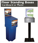 Floor Standing Ballot Boxes - Made in USA