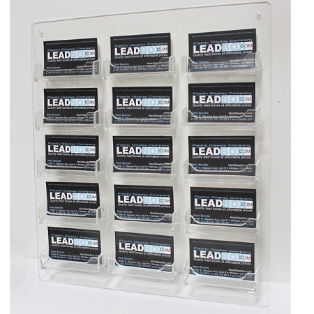 Wall Mount Business Card Holders Leadbox Com