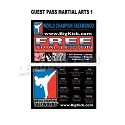 Guest Pass Martial Arts 1