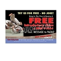 "Guest Pass Martial Arts Z (4.25""w x 2.75""h), We'll Add Your Logo at NO COST"