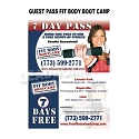 Guest Pass Health / Fitness Design O