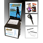 Cardboard Contest Box Marketing Kit - BEST SELLER (25 PACK)