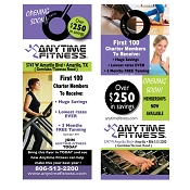 Anytime Fitness Door Hangers