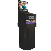 Anytime Fitness Floorstanding Cardboard Marketing Contest Box -