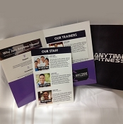 Anytime Fitness Welcome Folder ( 40 PACK)