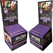 NEW Anytime Fitness Contest Entry  Lead Box. All in One  Set - Group Fitness