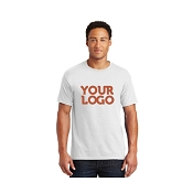 Custom Design White T-Shirt with Logo (Flat Rate!)
