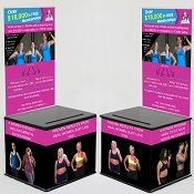 Delta Life Fitness Lead Generation Kit - Black top (8 pack) or (16 pack)