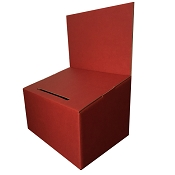 Medium Red Comment and Suggestion Box
