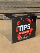 Countertop Tip, Donation or Collection Box