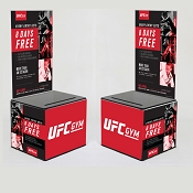 UFC 8 Days Free Design -Plastic Entry Box Package