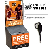 Tough Mudder Black Cardboard Registration Box - 10 PACK