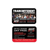 UFC GYM Plastic (Credit Card) VIP Passes: QTY 500