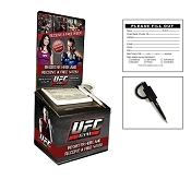 UFC GYM Black Cardboard Contest Box Set