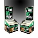 VISALUS WHITE BALLOT CONTEST BOX (PACKAGE of 10)