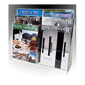 This Multi Pocket Brochure Holder has (6) easily-seen holders for your Full Size and 8 1/2 X 11 literature. Acrylic Literature Displays offer a reliable and fashionable approach to Full Size Literature Display