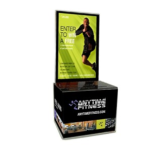 Acrylic Promo Box Set, includes Design Insert, Anytime Entry Pad & Security Pen Green/Male