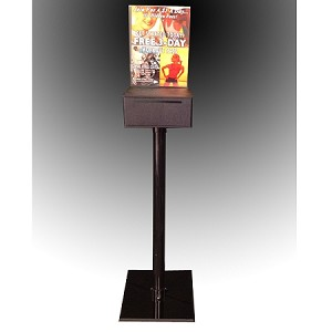 Floor Standing Donation or Suggestion Box  -FREE SHIPPING
