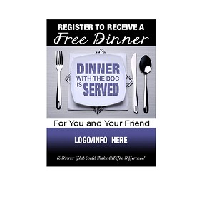 Chiropractic Design DINNER 2 top part. Email Logo and changes to: info@leadbox.com - please note: 1 time set up fee $40