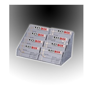 CLEAR 8 Tier Business Card/Gift Card Display / Business Card