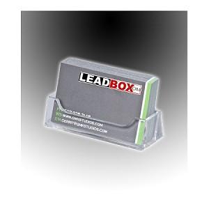Clear acrylic business card holder colourmoves