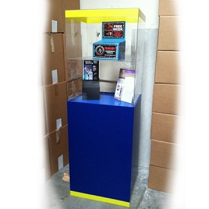 Custom Floor Standing Acrylic Display Stand 6' /Sample
