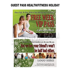 Health and Fitness Guest Passes - Holiday