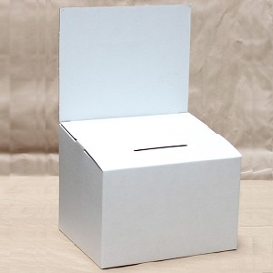 Large White Countertop Comment Box
