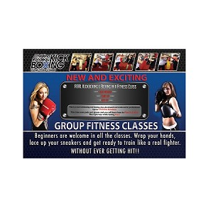 500 Christna Rondeau Kickboxing postcards
