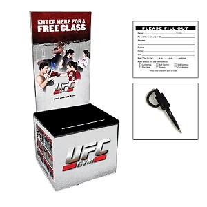 UFC Original Design -Plastic Entry Box Package