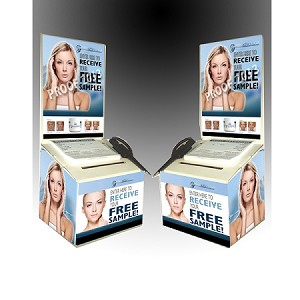 2 MINUTE MIRACLE GEL - WHITE BALLOT CONTEST BOX (PACKAGE of 24)